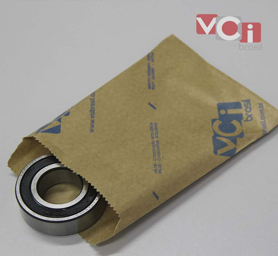 Embalagem para peças de metal