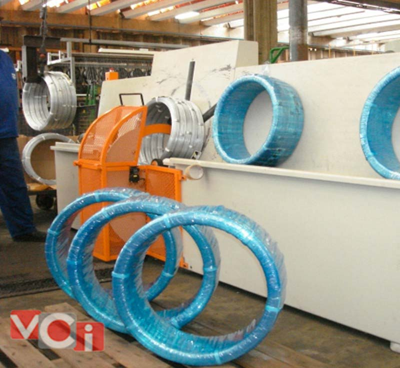 Máquina embaladoras de rolos